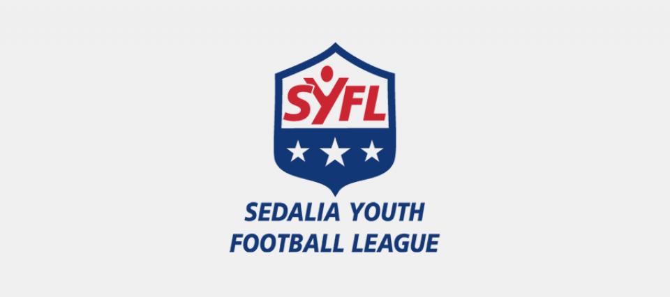 Sedalia Youth Football League - logo design by Sullivan Creative