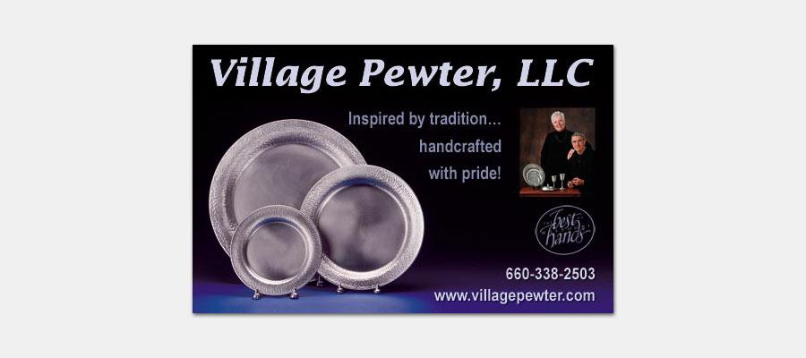 Village Pewter Ad
