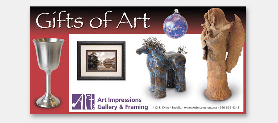 Art Impressions Gallery & Framing ad