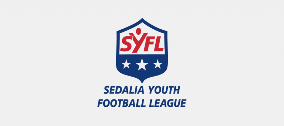 Sedalia Youth Football League - logo design by Sullivan Creative