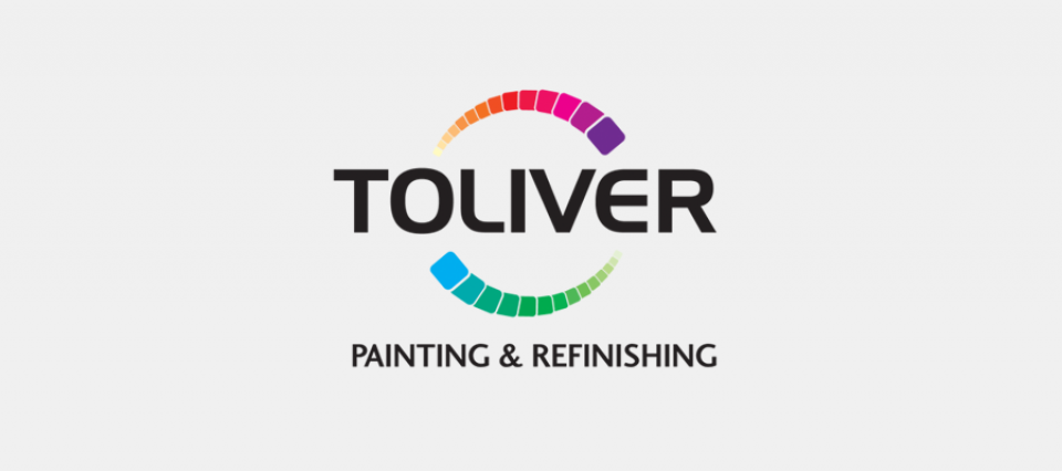 Toliver Painting - logo by Sullivan Creative
