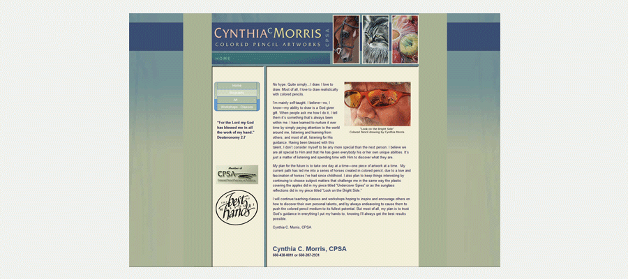 Cynthia C. Morris website